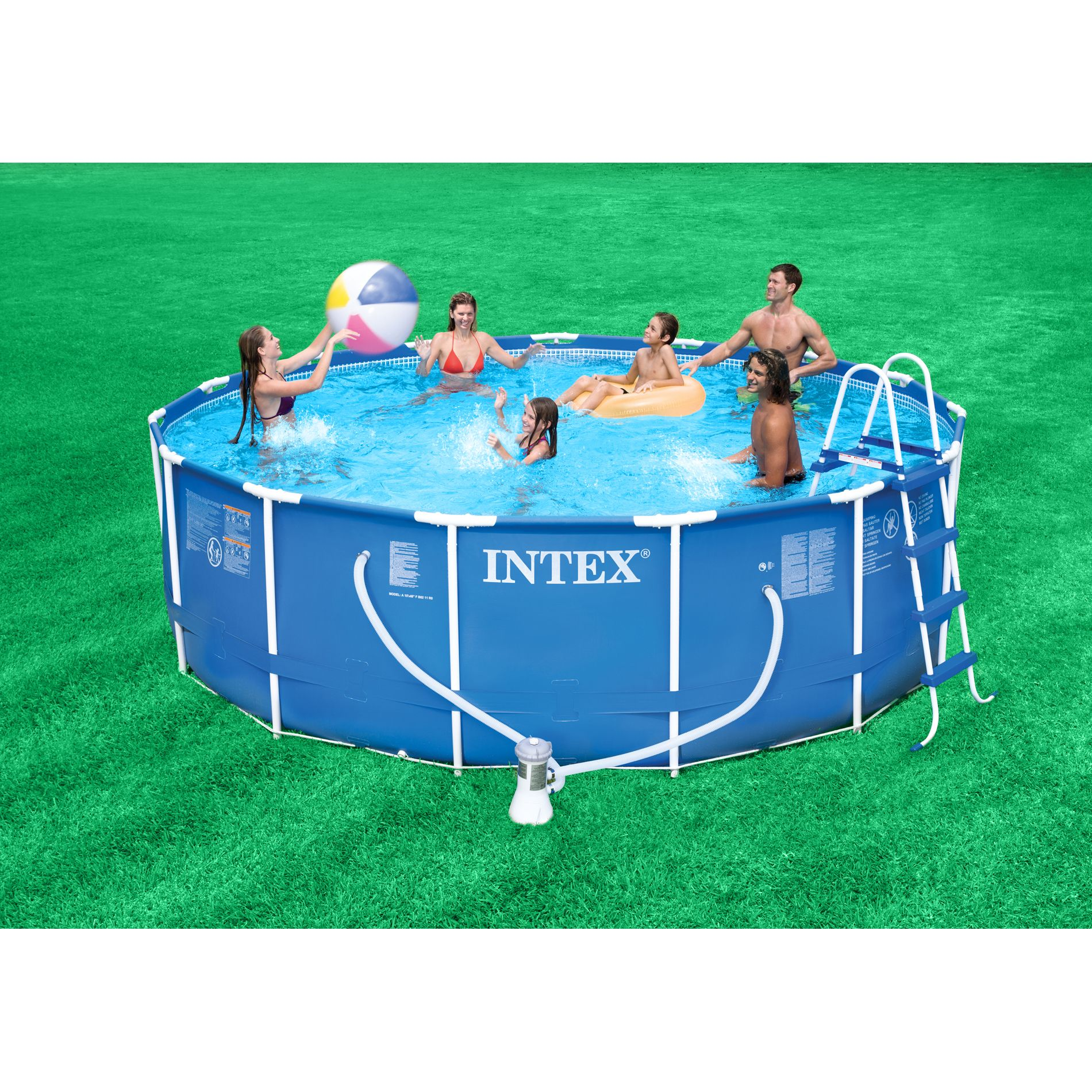 15ft X 42in Metal Frame Pool Package