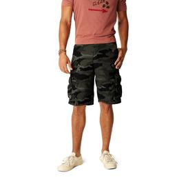 Signature by Levi Strauss & Co. Mens Cargo Shorts Charcoal Camo at Kmart.com