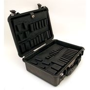 "Pelican 1520T-CB Firearms Travel Case with Foam  53"" x 17-7/16"" x 6-1/16"" at Craftsman.com"