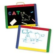 Melissa & Doug Magnetic Chalkboard/Dry-Erase Board at Sears.com