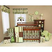 Giggles - 3pc Crib Bedding Set & Crib Bumpers Bundle at Sears.com