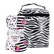 Zahara Black & White Zebra - Bottle Bag & Burp Cloth Set at Kmart.com