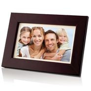 "Coby 7"" (16:9) Widescreen Digital Photo Frame Wooden Design at Kmart.com"