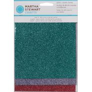 Martha Stewart Crafts Martha Stewart Glitter Sheets, 6/Pkg-Gemstones at Kmart.com