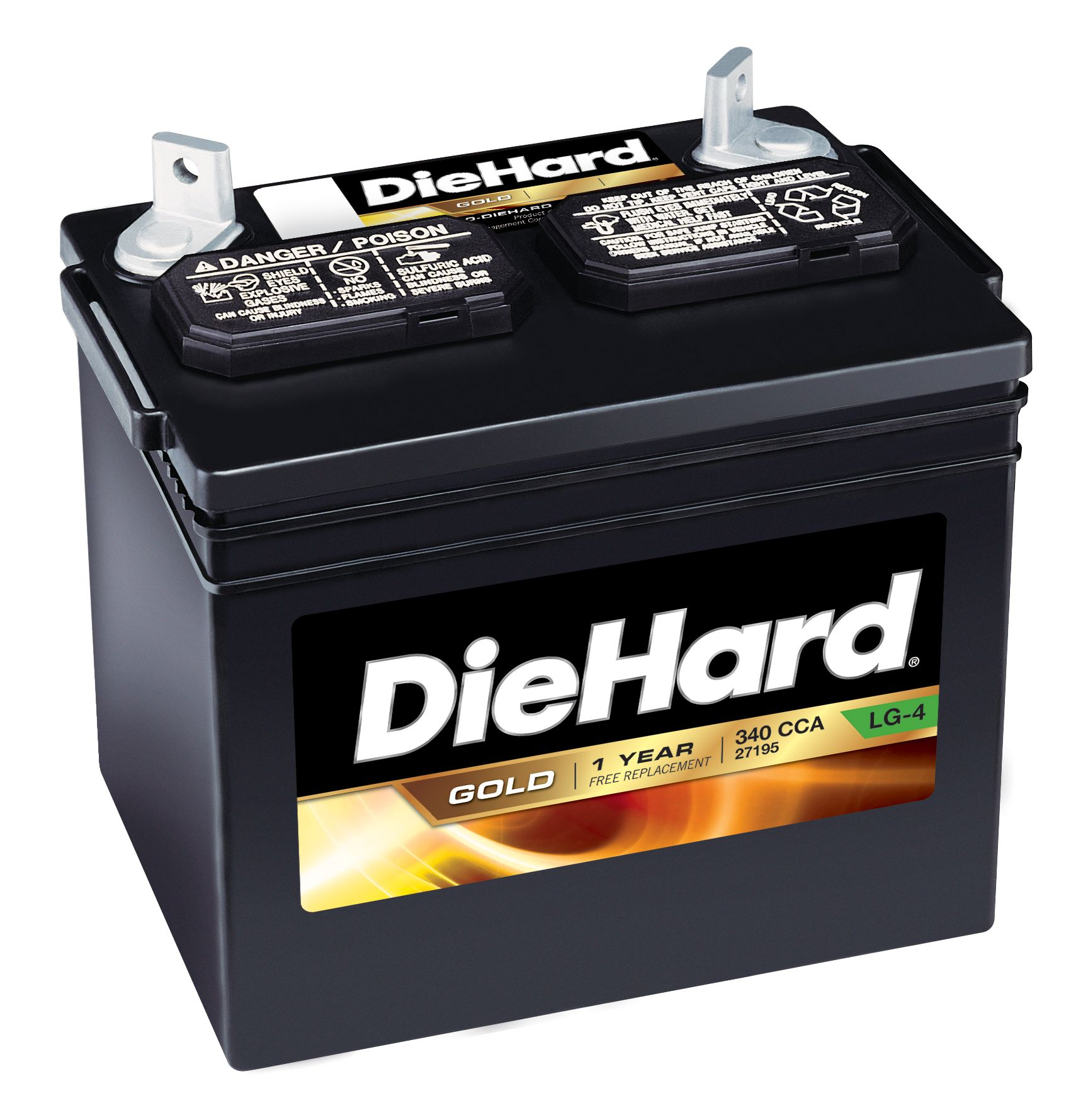 DieHard  Gold Garden Tractor Battery- Group Sizes U1R (Price with