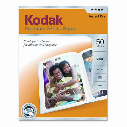 Kodak  Glossy Premium Photo Paper,