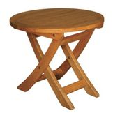 Blue Star TERRACE MATES® ASPEN Folding End Table / Round at mygofer.com