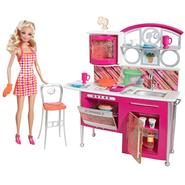 Barbie DELUXE STOVETOP TO TABLETOP! KITCHEN & DOLL at Kmart.com