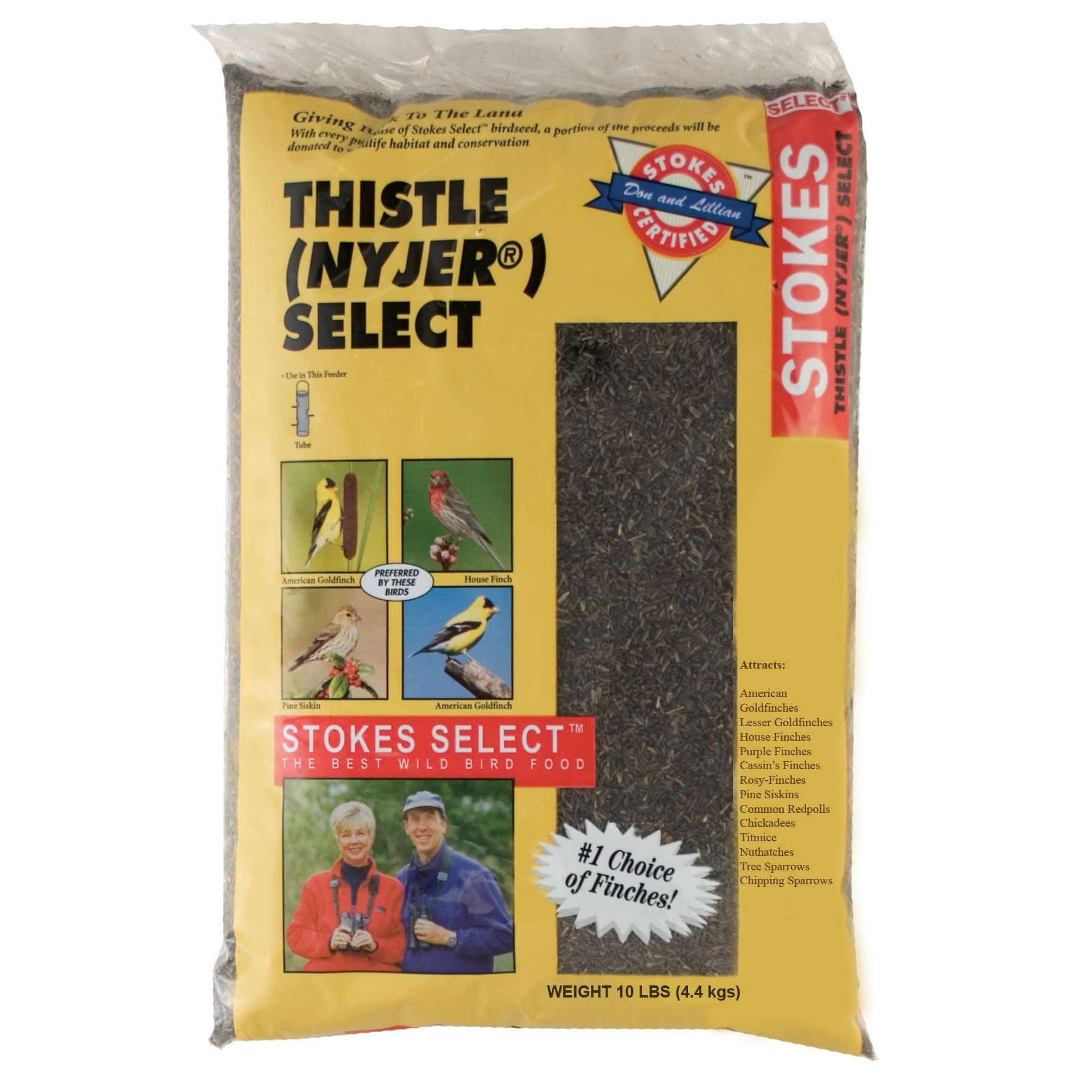 Stokes Select® 10lb Nyjer Thistle