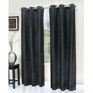 Essential Home Libby Grommet Panel - Black at Kmart.com