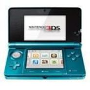 Nintendo 3DS Handheld Game Console- Aqua Blue at Sears.com