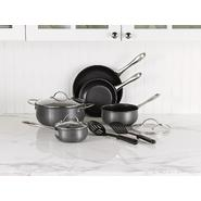 Sandra by Sandra Lee 10 Piece Hard Anodized Cookware Set at Kmart.com