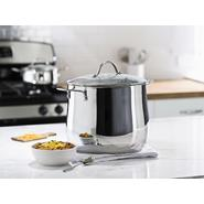 Sandra by Sandra Lee 12 QT Stainless Steel Stock Pot at Kmart.com