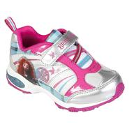 Disney Toddler Girl's Brave Princess Athletic Shoe - White at Kmart.com