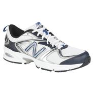 New Balance Men's 540 Running Athletic Shoe Medium and Wide Width - White/Navy at Sears.com