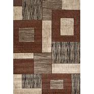 World Rug Gallery IRON BRIDGE Brown/Ivory 8'x10' Rug at Kmart.com