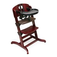 Badger Basket Evolve™ Convertible Wood High Chair with Tray and Cushion - Cherry at Sears.com
