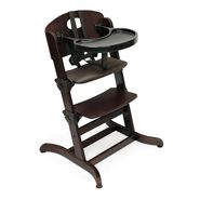 Badger Basket Evolve™ Convertible Wood High Chair with Tray and Cushion - Espresso at Kmart.com