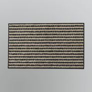 Essential Home Pasadena Striped Mat - Black at Kmart.com