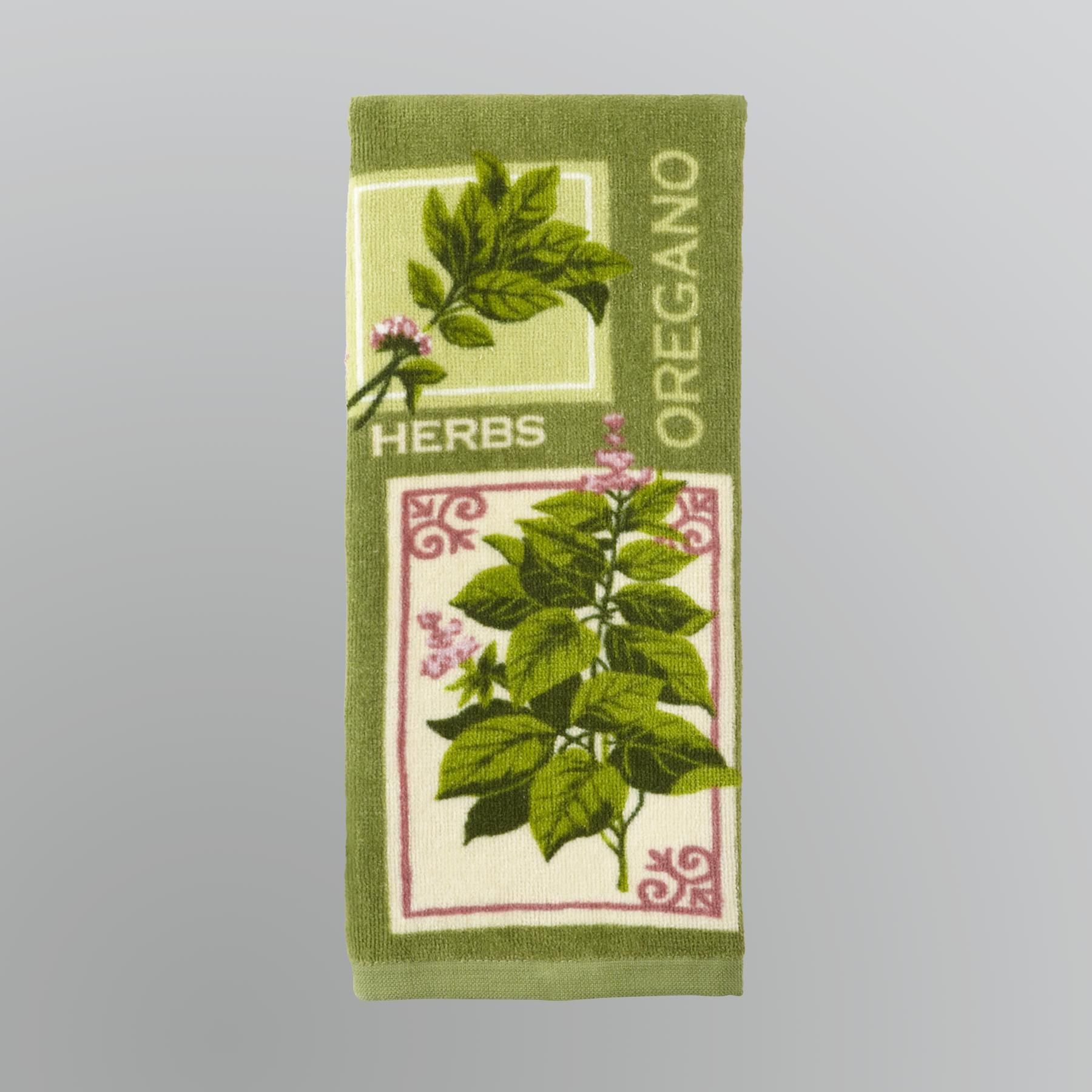Kitchen Herbs Towel