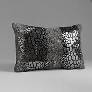 Sofia by Sofia Vergara Black Magic Velvet Flocked Sequin Pillow at Kmart.com
