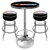 NASCAR Gameroom Combo - 2 Bar Stools and Table at mygofer.com