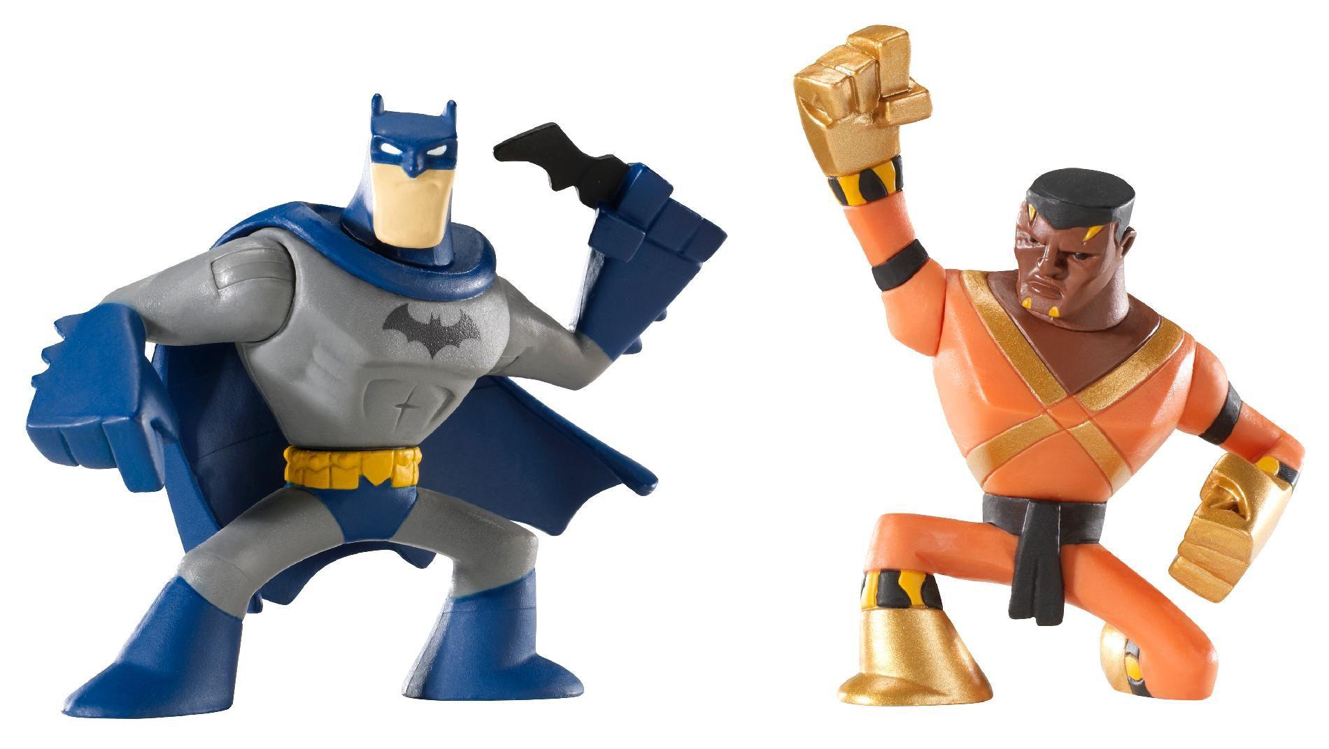 Mattel DC Universe Action League Mini Figure 2Pack Batman Bronze Tiger (V2250) PartNumber: 004W002710766006P