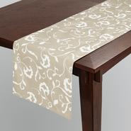 Sandra by Sandra Lee Damask Reversible Table Runner at Kmart.com