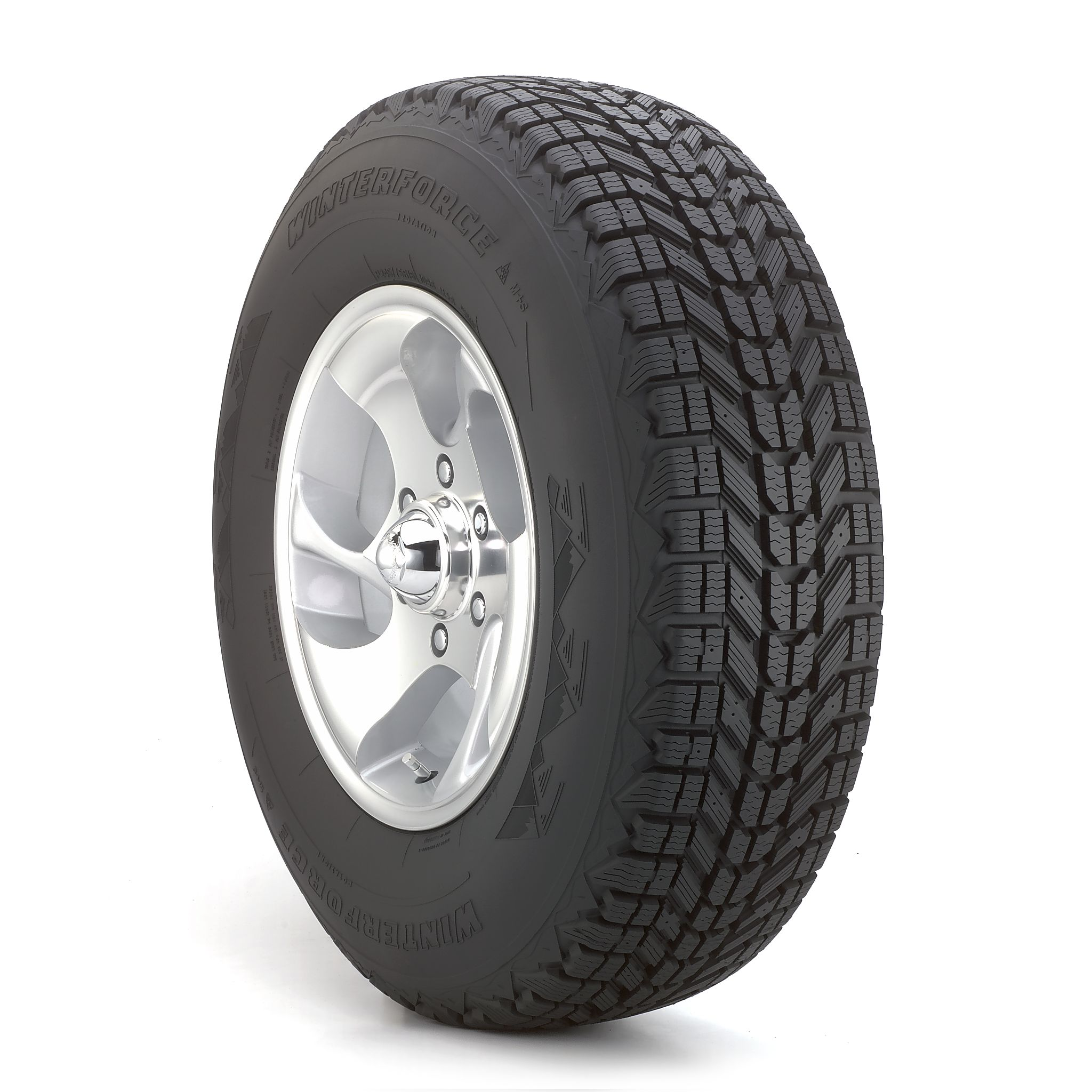 Firestone Winterforce - P265/70R17 S BW - Winter Tire 265-70-17