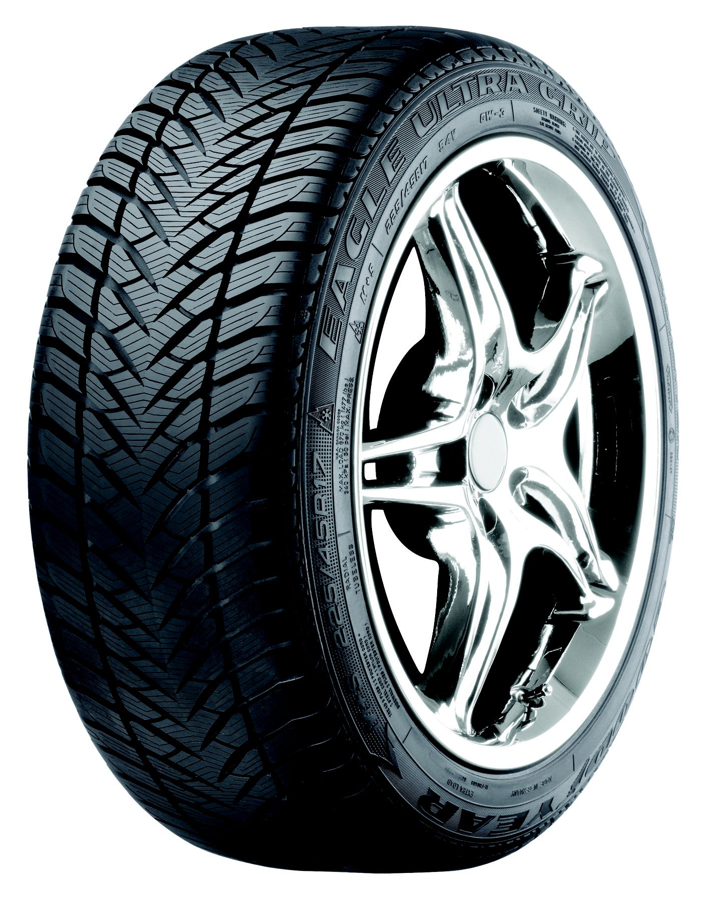 goodyear eagle ultra grip gw 3 225 50r17 94h bw winter tire automotive tires wheels. Black Bedroom Furniture Sets. Home Design Ideas
