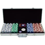 Trademark Poker 500 11.5G Holdem Poker Chip Set w/Aluminum Case at Kmart.com