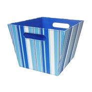 Essential Home EH TOY BIN - MEDIUM BLUE STRIPES at Kmart.com