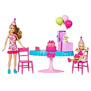Barbie CHELSEA® BIRTHDAY PARTY®! Set at Kmart.com