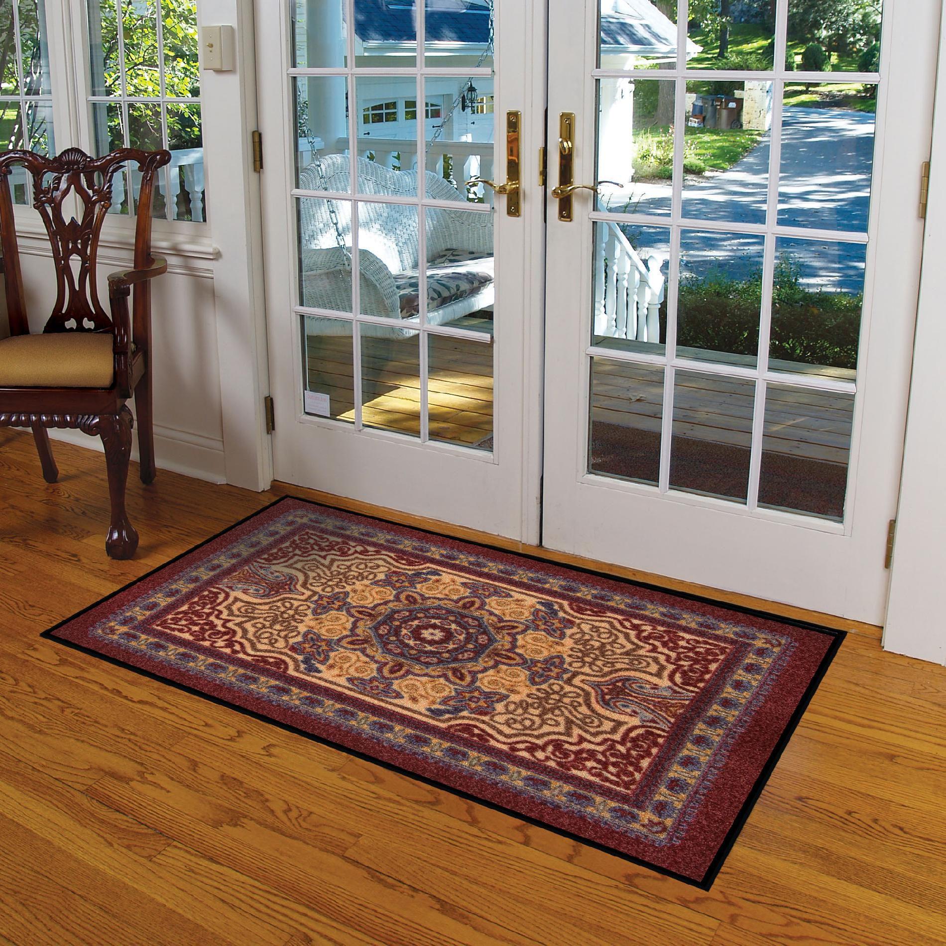 NoTrax Orientrax Door Mat - Burgundy Red 5' x 8' PartNumber: 03741828000P KsnValue: 4387405 MfgPartNumber: 170S0058BD