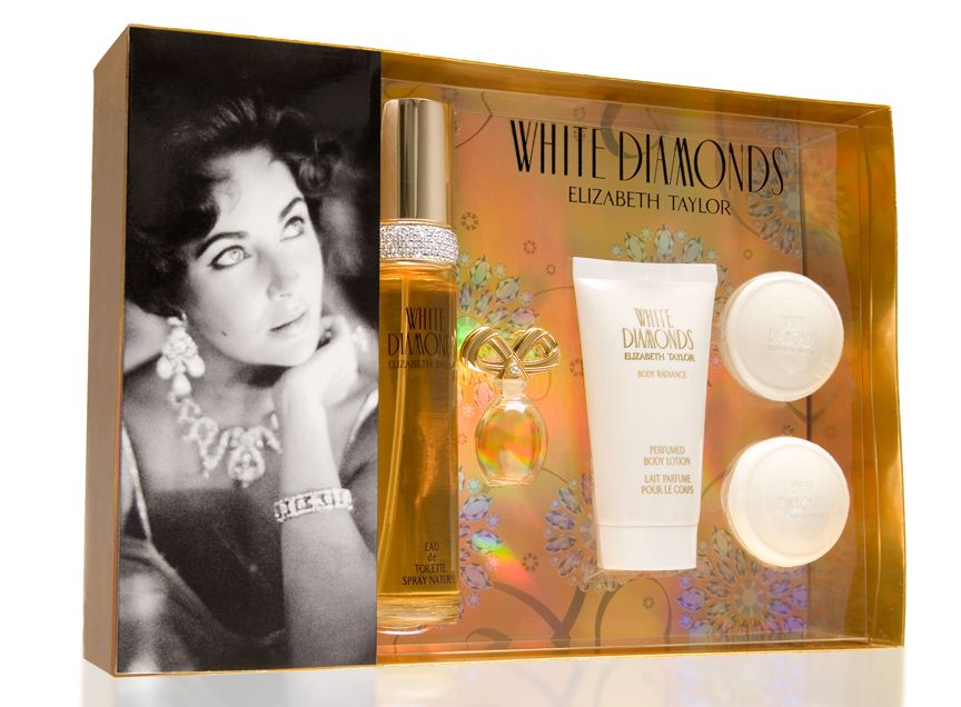 White Diamonds Piece Set 1 7 oz Eau de Toilette Replica 1 7 oz Body Lotion Soaps