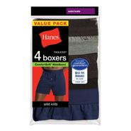 Hanes Solid Knit Boxers at Kmart.com