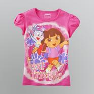 Nickelodeon Girl's Dora the Explorer Short Sleeve T-Shirt at Sears.com