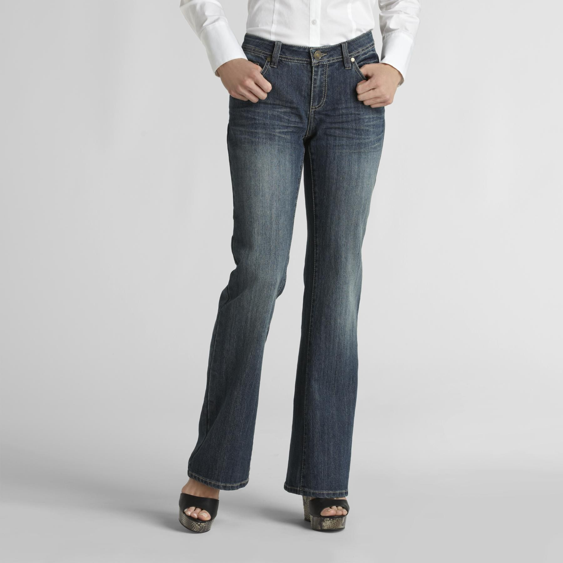 Canyon River Blues Women's Curvy Flare Jeans at Sears.com