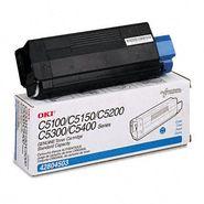 Okidata Corporation 42804503 Toner Cartridge, Cyan
