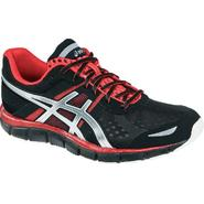 Asics Men's GEL-Blur33 Running  Athletic Shoe - Black/Red/Silver at Sears.com