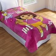 Nickelodeon Girl's Dora the Explorer Fleece Blanket at Kmart.com