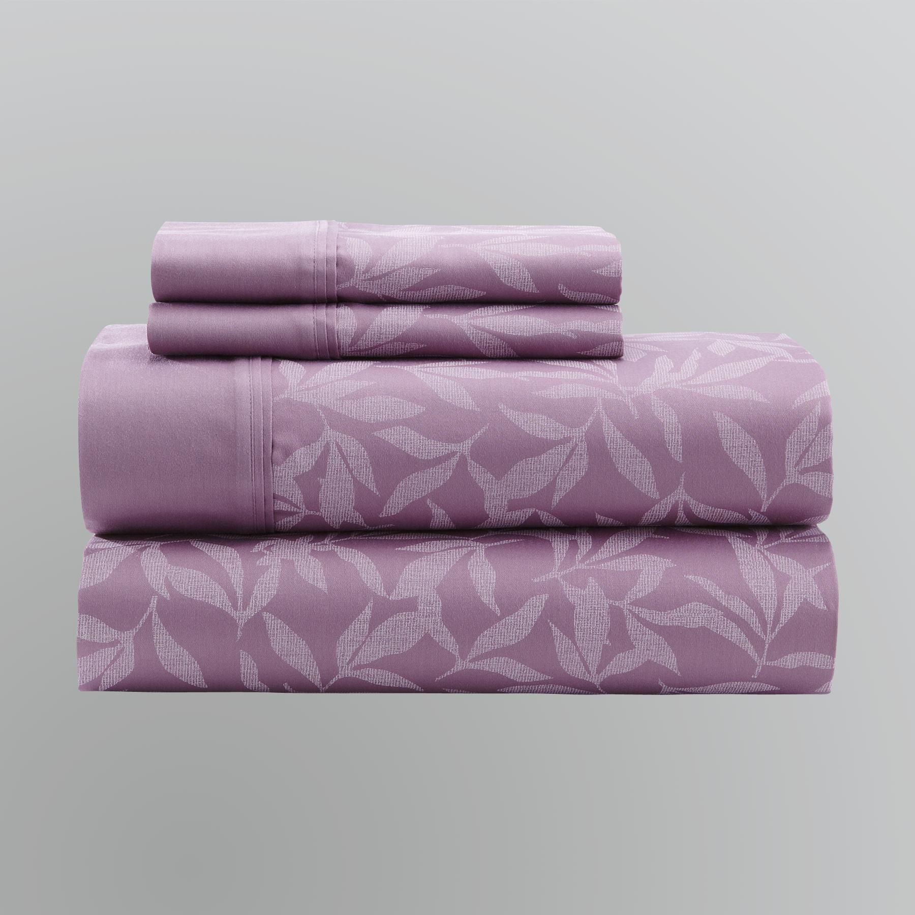 Peony Easy-Care Sheet Set