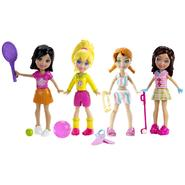 Polly Pocket POLLY FRIENDS 4-PACK SPORTY FUN at Kmart.com