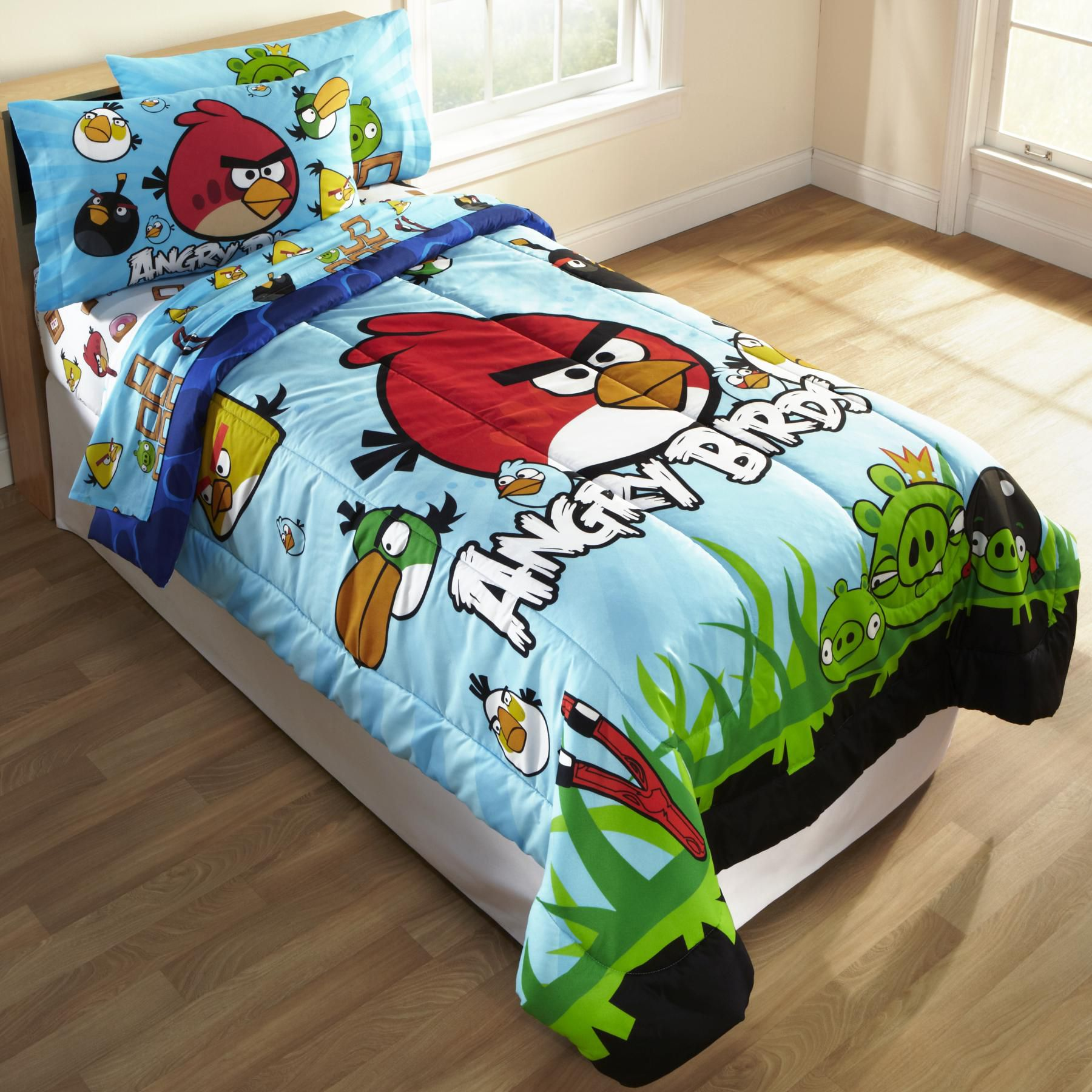 Child's Angry Birds Twin Comforter