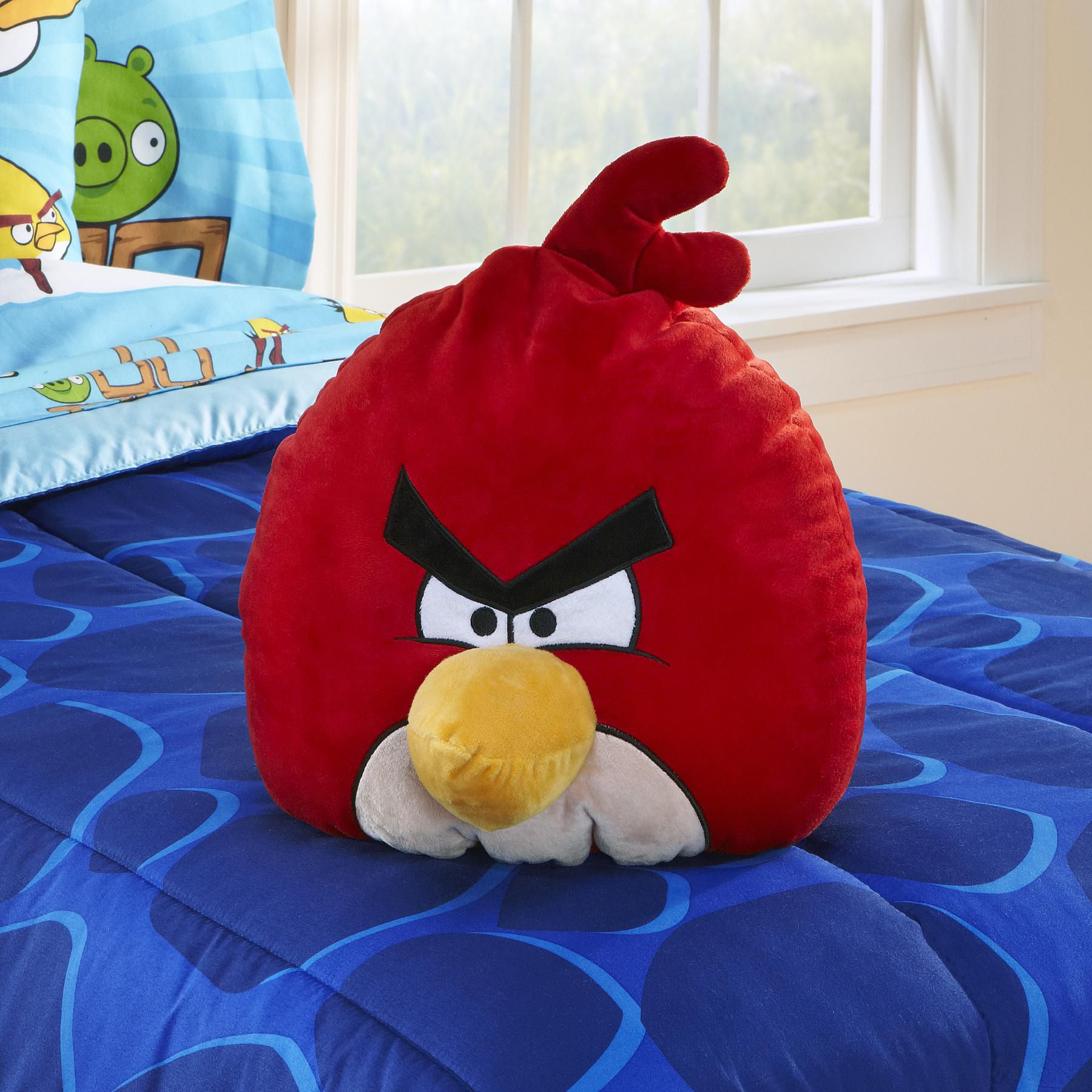 Child's Angry Birds Cuddle Pillow