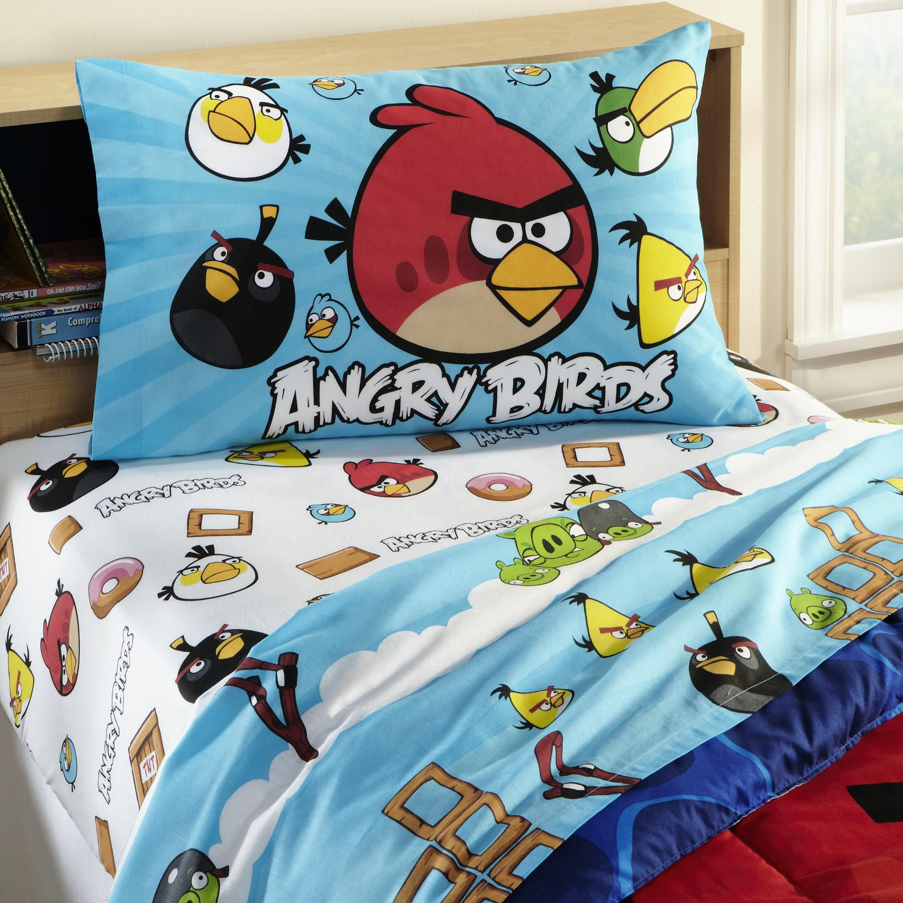 Angry Birds Twin Sheet Set