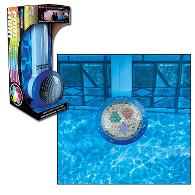 Smart pool mulitcolored nightlighter for above ground - Above ground swimming pool lights ...