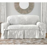 Sure Fit MATELASSE DAMASK 1PIECE SOFA SLIPCOVER at Sears.com