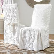 Sure Fit MATELASSE DAMASK DINING ROOM CHAIR COVER at Sears.com