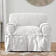 Sure Fit MATELASSE DAMASK 1PIECE CHAIR SLIPCOVER at Sears.com